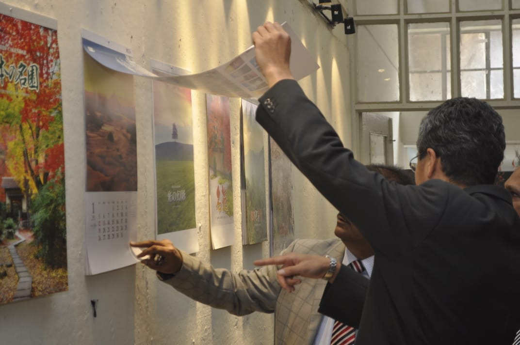 MAAP organized Inauguration of Japanese Calendars Exhibition online
